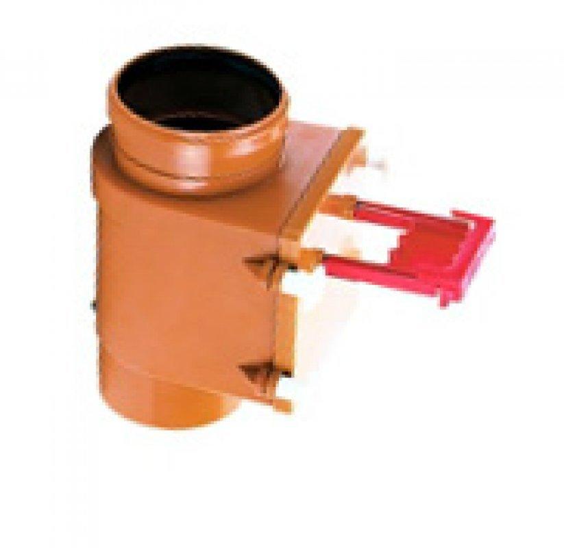 HL710.1V Вертикальный канализационный механический затвор DN110.