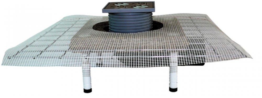 Hl80с трап для террас и балконов с консулью для полимербитон.