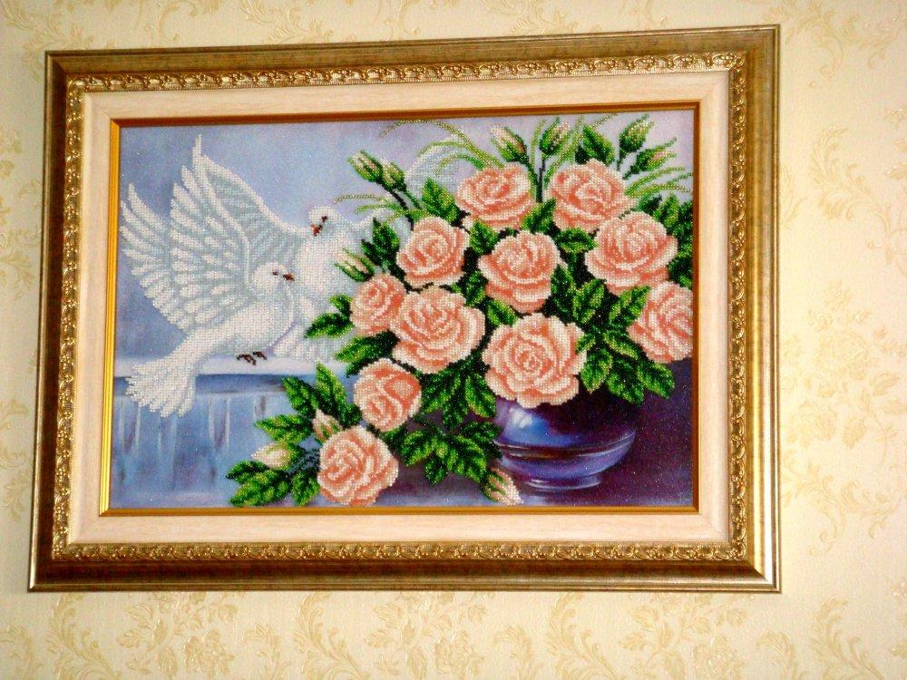 Картина вишита бісером купити в Київ b1394cd5ecac0