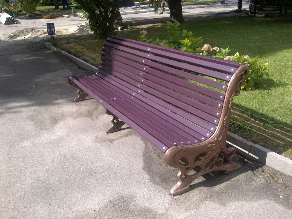 Парковая скамейка