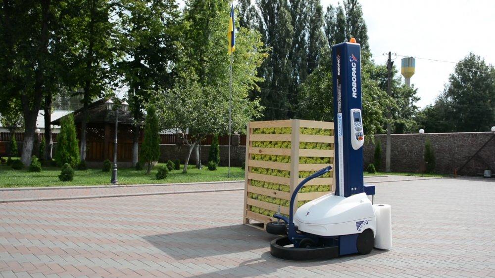 Робот паллетообмотчик Robot Master (Robopac)