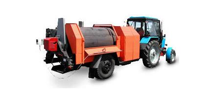 Ремонтер для повторного использования асфальтобетона при ямочном ремонте дорожных покрытий