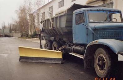 Боковой снежный отвал к автомобилю КрАЗ