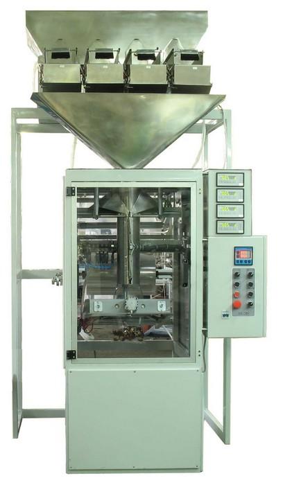 Купить Автомат для фасовки сыпучих не пылящих продуктов с четырьмя весовыми дозаторами УФС-30А-4В