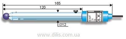 Электрод pH стеклянный комбинированный лабораторный ЭСК-10601