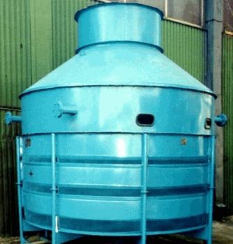 Купить Градирня ХАРЬКОВ 1000 производительность — 800000 Ккал/час изготовляются в трех вариантах: из черного металла с покраской (ХА124), с покраской (Алкид), из нержавеющей стали