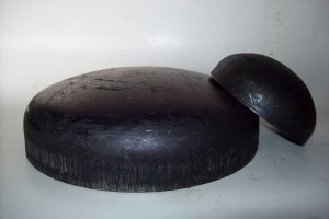 Заглушка стальная ф50