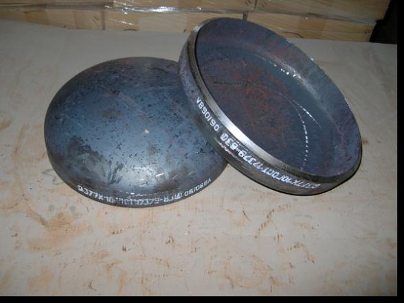 Заглушка стальная ф400