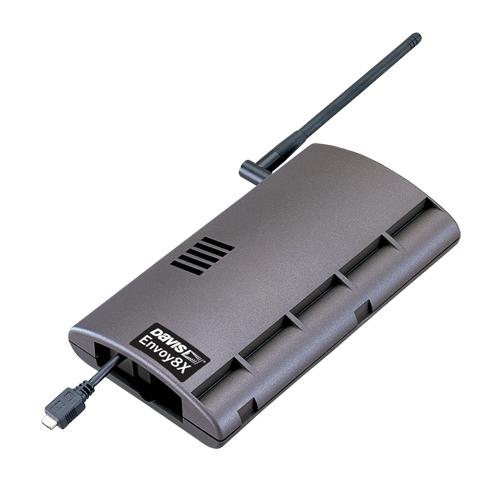 Беспроводной блок передачи от восьми различных погодных модулей метеостанций (Davis Instruments) к компьютеру Davis 6318 Envoy 8X