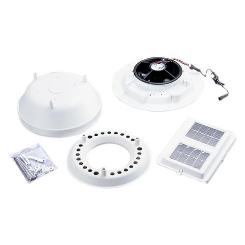 Защитный кожух метеостанции (Davis Instruments) с вентилятором для охлаждения блока датчиков в дневное время Davis 7747