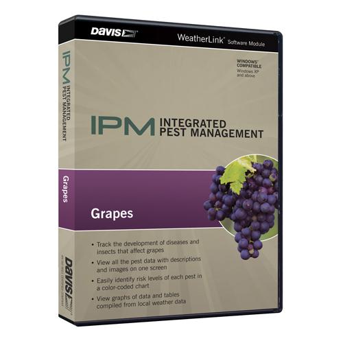 Davis 6571 mezőgazdasági pest control program a meteorológiai állomás (Davis műszerek), egy csomagot a szőlő