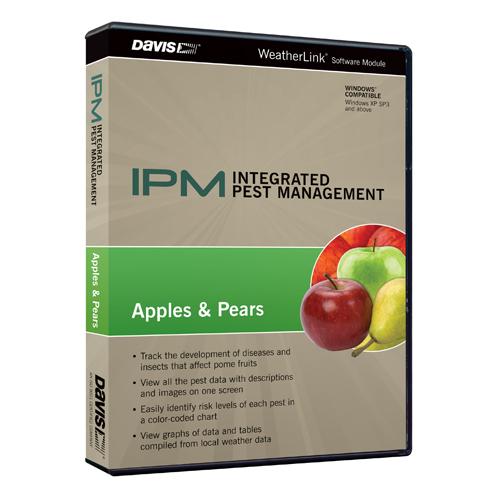 Сельскохозяйственная программа борьбы с вредителями для метеостанции (Davis Instruments), пакет яблоки и грушы Davis 6572