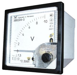 Вольтметры переменного напряжения ЭВ0300