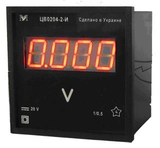 Buy TsV0204 and TsV0303 voltmeters