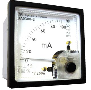 Амперметры переменного тока ЭА0300