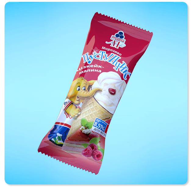 Купить Мороженое Пустунчик. Чизкейк-малина. Молочный десерт