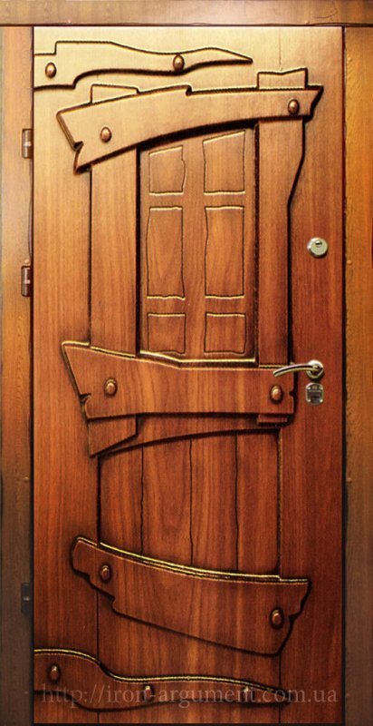 дверь стальная под