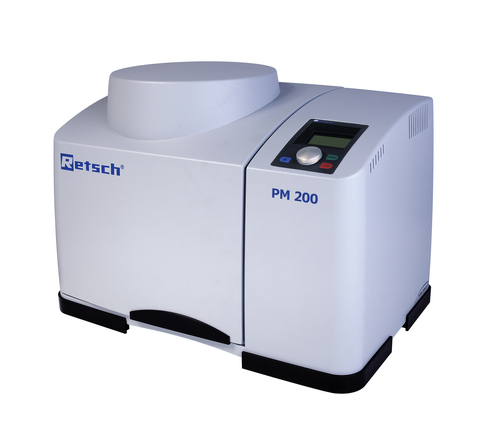 Planetary spherical mill of PM 200