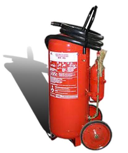 Огнетушитель передвижной порошковый ОП-50 (ВП-45)