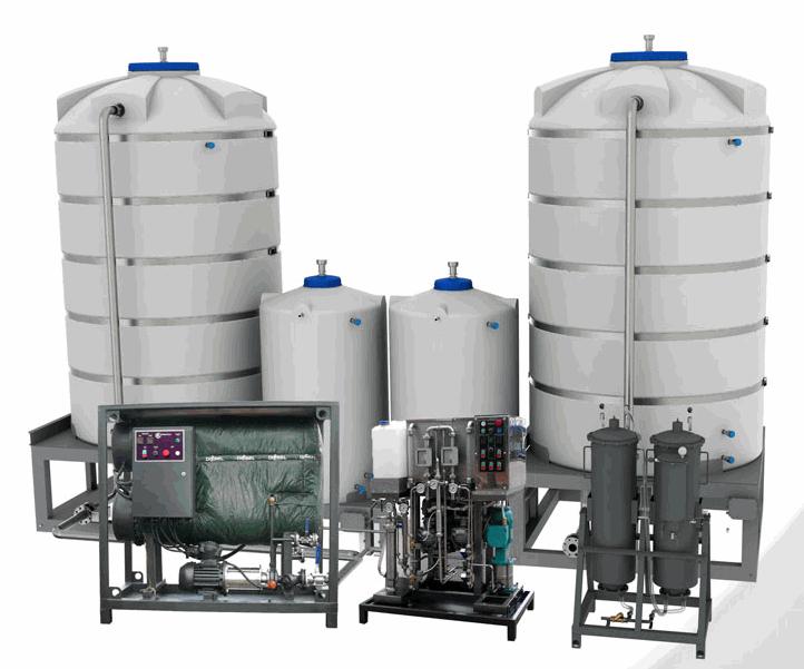 Купить Установка производства биодизеля в потоке УБД-1 под управлением микропроцессоров GE FANUC полный комплект, (фермерская биодизельная установка) производительность по биодизелю до 1-й тонны в час готового биодизеля