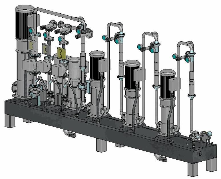 Купить Биодизельный реактор гидродинамический взрывозащищенный для получения сырого биодизеля путем смешивания компонентов производства биодизеля.