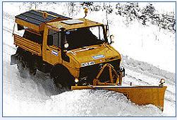 Снегоуборочные отвалы с сегментами типа CP