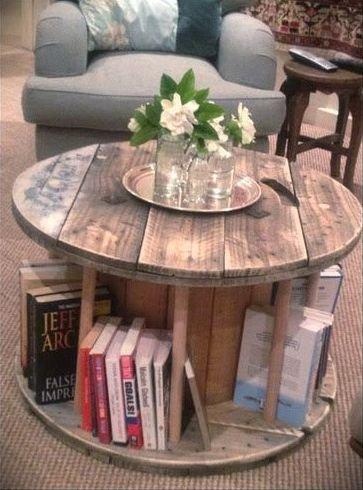 Купить Состареная мебель. Винтажный журнальный столик