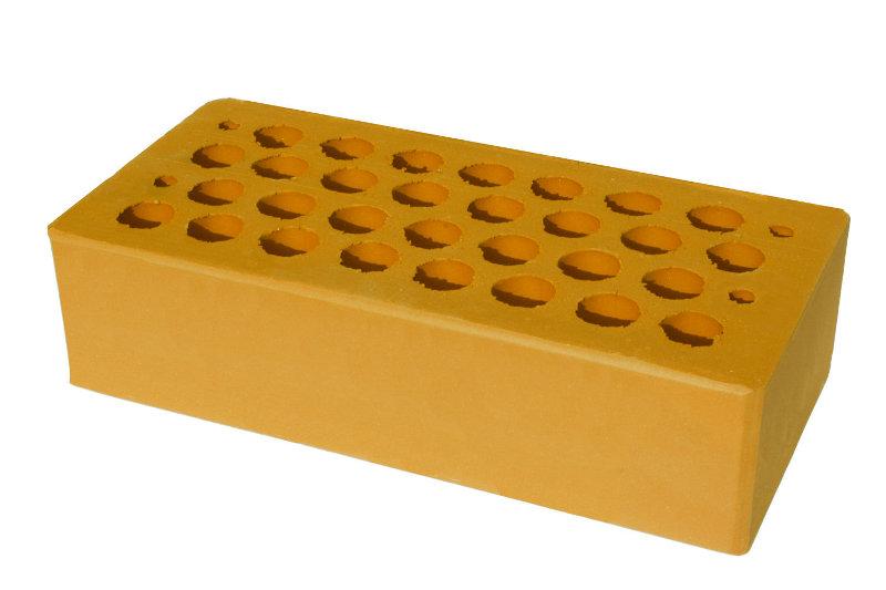 Кирпич керамический рядовой  пустотелый М-100, М-200Р