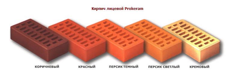 Кирпич лицевой PROKERAM  красный