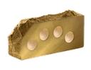 Кирпич облицовочный Литос  скала угловой пустотелый