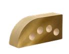 Кирпич облицовочный Литос полукруг