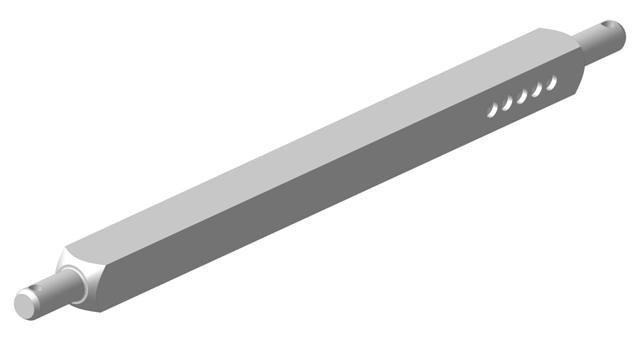 Вал квадратный ПЛН 3-35 квадр 50