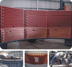 Buy Pipe elements, heating surface, copper elements
