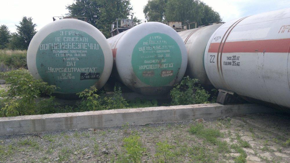 Емкость для газа , Пропан-бутан  сосуд под давление  на 54 м.куб.
