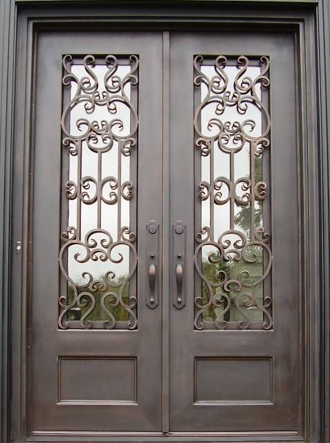Doors Are Entrance Double, Doors Entrance Double Metal, Double Entrance  Doors To The Apartment