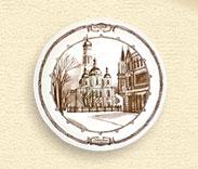 Тарелка настенная  «Успенский собор»