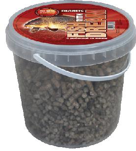 Прикормка для крупной рыбы  с фруктовым ароматом тутти