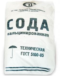 Сода кальцинированная, карбонат натрия. Na2CO3. ГОСТ 5100-85