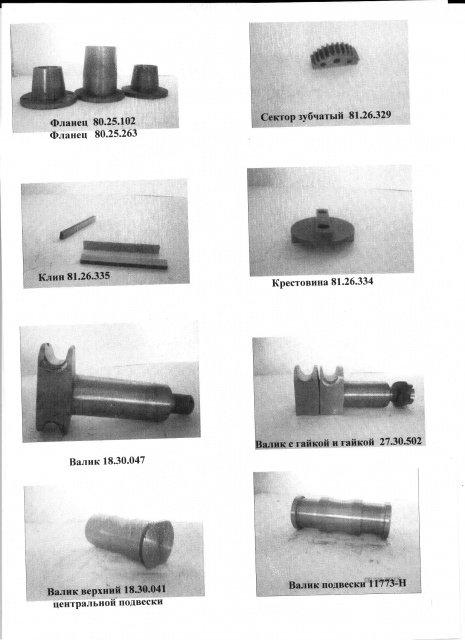 Детали тележки пассажирского вагона