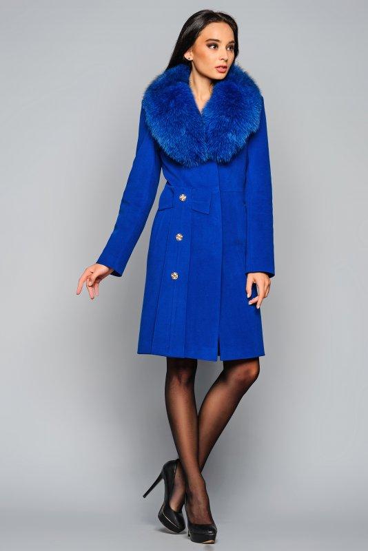 Пальто кашемировое молодежное зимнее