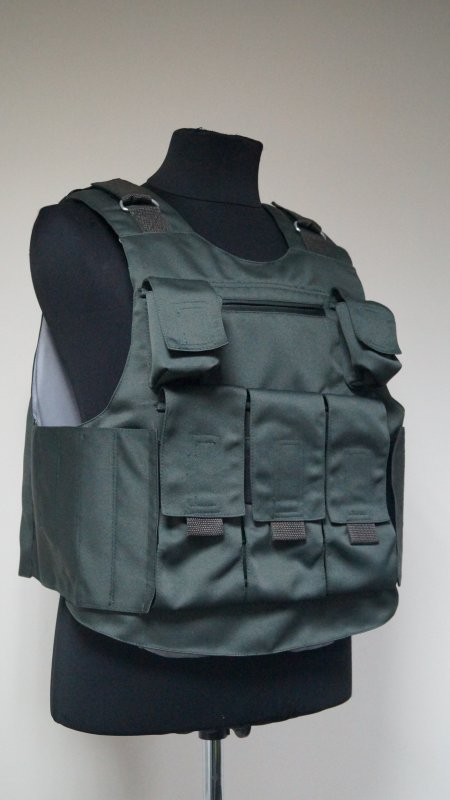 Buy ACU 4-5 bullet-proof vest class with additional bolistichesky protection on each side
