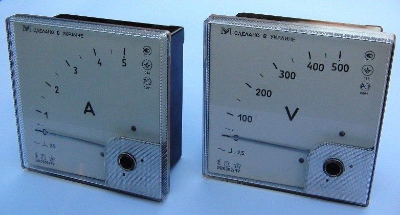 Амперметры и вольтметры переменного тока ЭА, ЭВ0302/1УУлучшенные Аналоги Э365, Э377