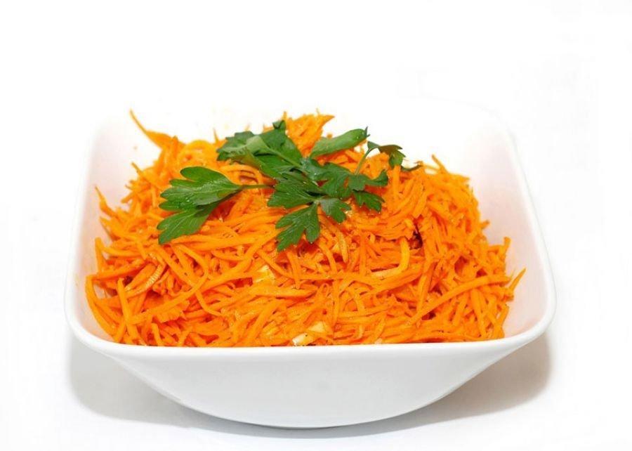 Фото салат морковь по корейски