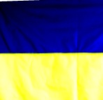 Флаг Украины болоньевая ткань 90см*135см