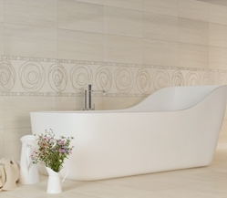 Buy Tile ceramic Crema Marfil Orion beige
