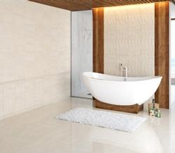 Купити Плитка для ванною Crema Marfil Fusion бежевий
