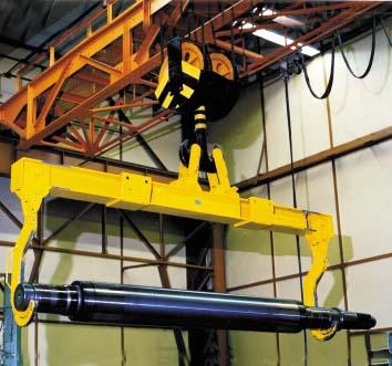 Купить Траверсы с удлиненным крюком -можно транспортировать и поворачивать грузы большой длины, пр-во STAHLCraneSystems (Германия)
