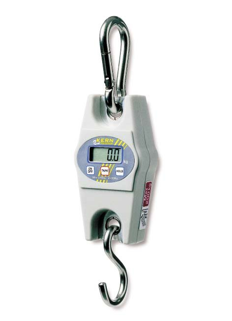 Buy Compact suspended scales of NSV with the range of measurement up to 200 kg with the carbine hook from high-quality steel, disclosure of 15 mm, pr-in STAHLCraneSystems (Germany)