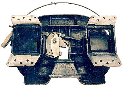 Седельно-сцепное устройство на грузовые автомобили КрАЗ и МАЗ.