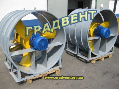 Вентилятор  осевой ВО 06-300-12,5